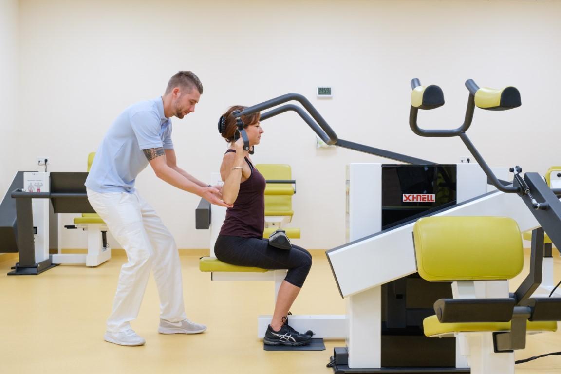 Training für Rücken und Körper