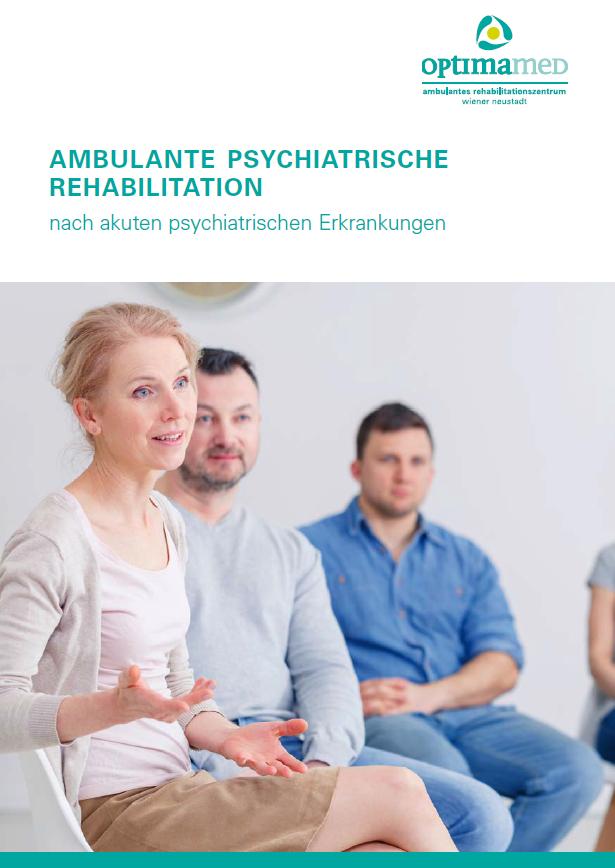 Cover Infos Reha Wiener Neustadt seelische Gesundheit